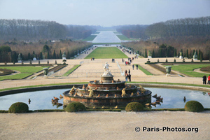 Part of the mock village constructed in the gardens of Versailles for Marie Antoinette